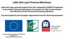 Little Owl Logs Firewood Machinery Funding
